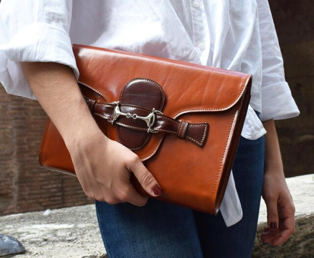Fama - italian leather purse by Mancini Leather