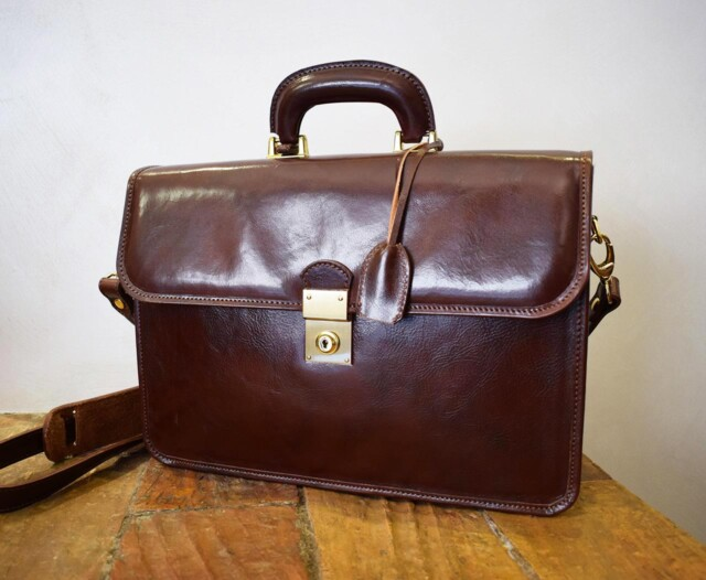 Leather Briefcase - Veritas