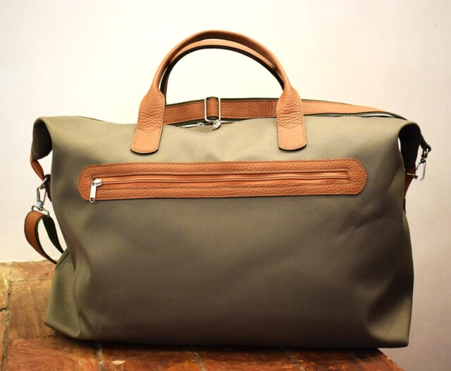 Globe, italian handmade travel bag - Mancini Leather Since 1918