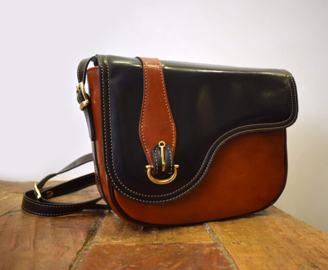 Italian leather handmade purse, Mancini Leather Since 1918