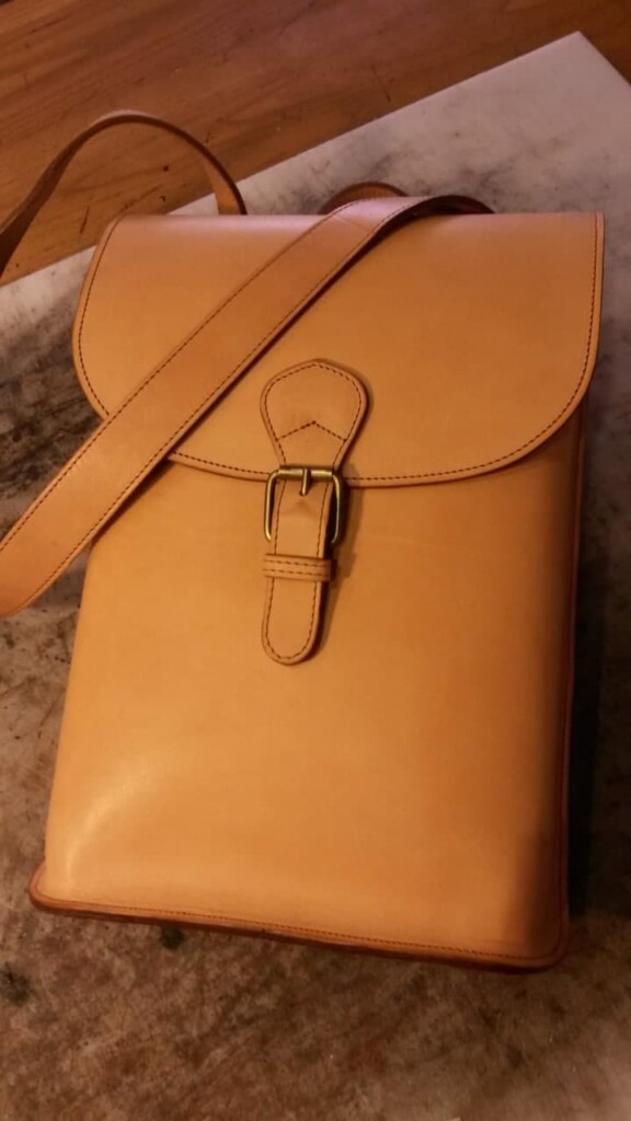 How to make leather bags, Mancini Leather Since 1918