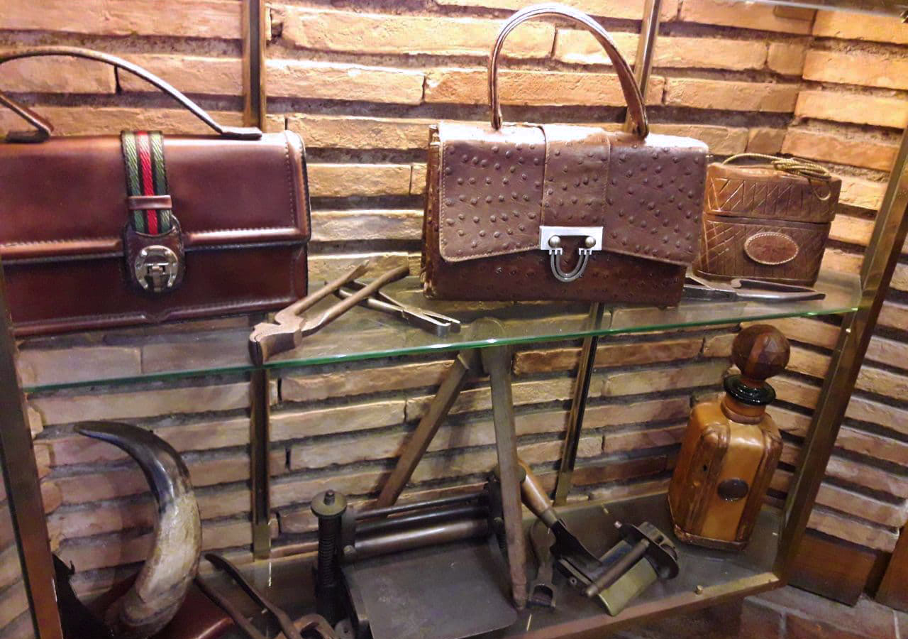 Vintage Leather Goods, Mancini Leather Since 1918